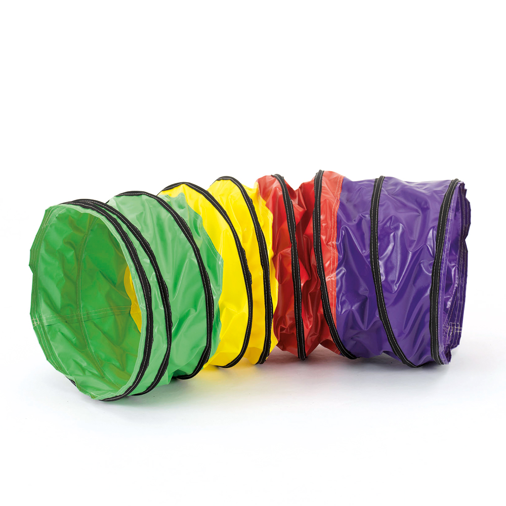 Multi Coloured-Activity-Tunnel-Bent-Stitched