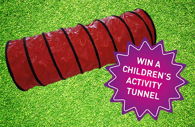 Win a children's activity tunnel